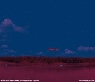 Great Chance to Spot Planet Mercury