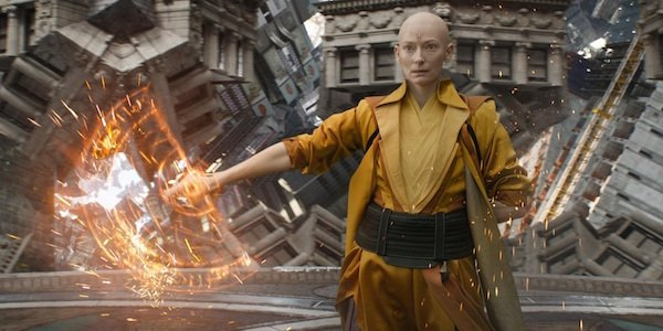 Ancient One Tilda Swinton Doctor Strange movie