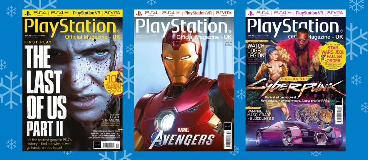 Subscribe to Official PlayStation Magazine this Christmas for savings of up to 49%