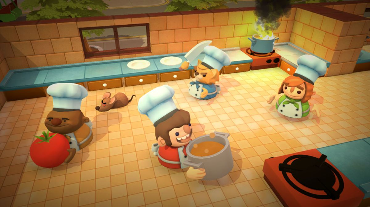 Overcooked is free for the week on the Epic Games Store