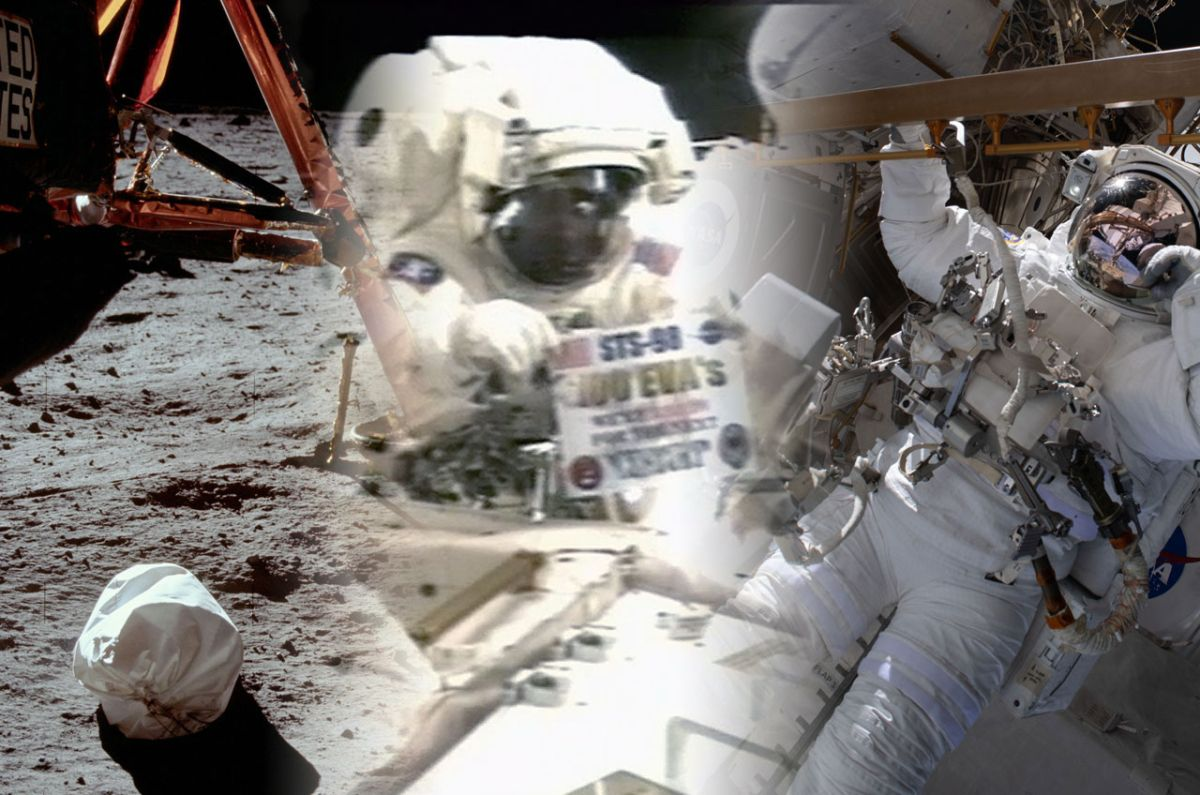 NASA jettisons Apollo moon landing stats to reach 300th American spacewalk