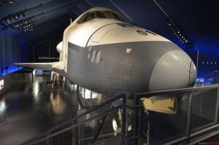 Space Shuttle Enterprise Relaunched at Intrepid