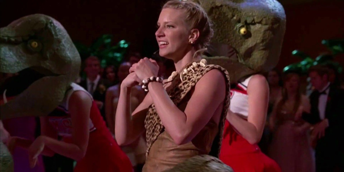 Heather Morris as Brittany in Glee