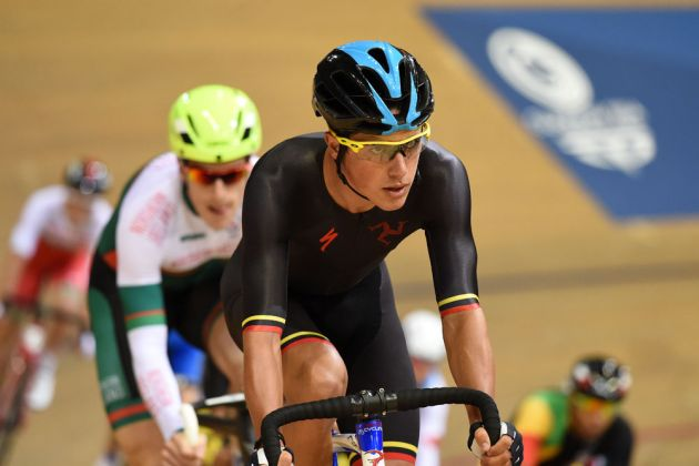 Peter Kennaugh, points race, Commonwealth Games 2014, day three