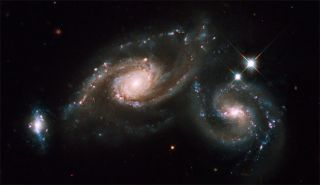 Hubble Photographs Peoples' Choice