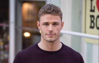 Hollyoaks George Kiss is played by Callum Kerr