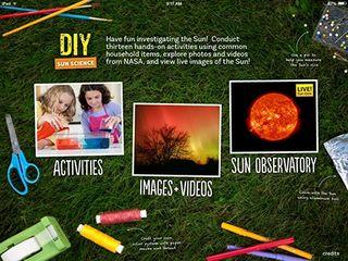 Free Astronomy App Sparks Kids' Interest in Sun