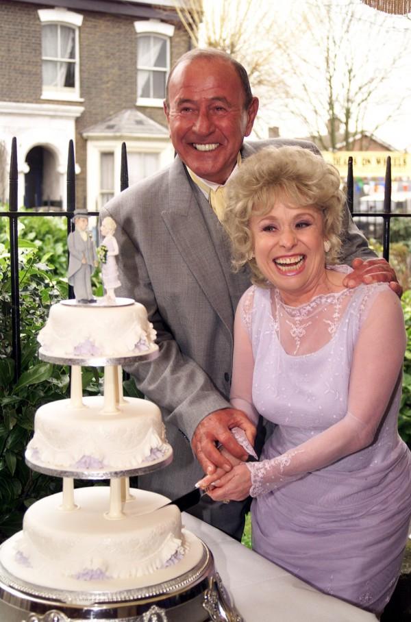 Barbara Windsor and Mike Reid