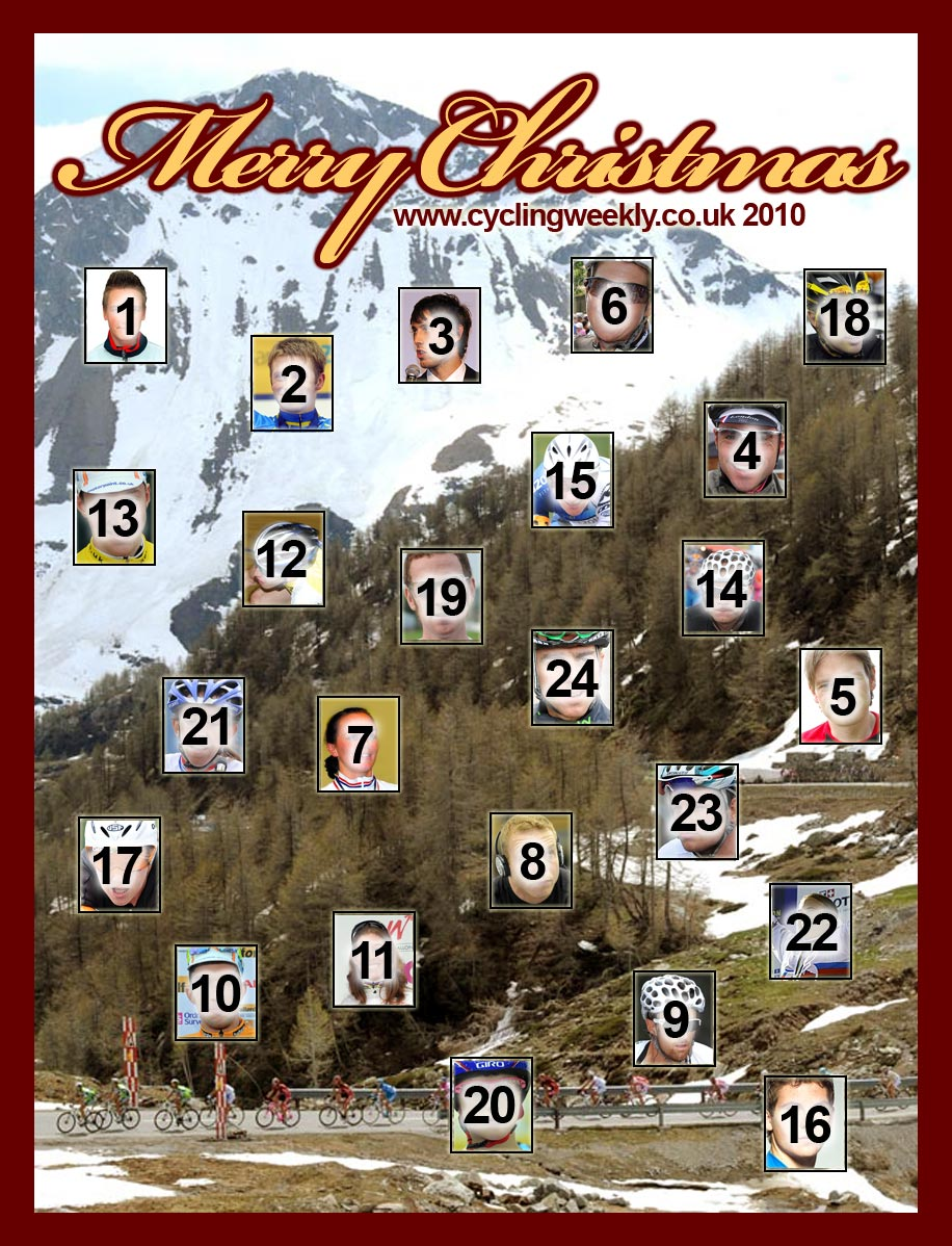 Cycling Weekly advent calendar 2010, December 24
