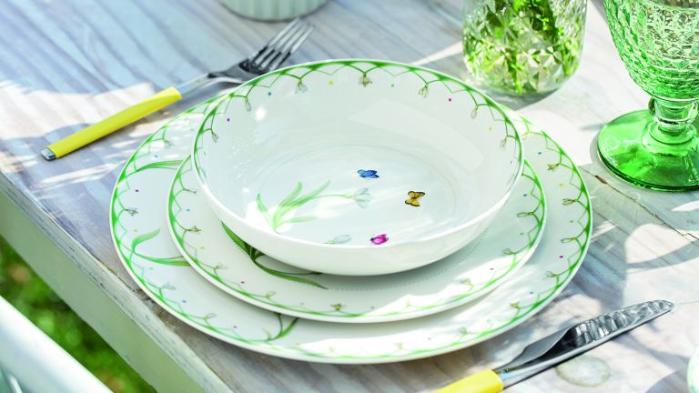 Villeroy & Boch colourful spring collection, plates