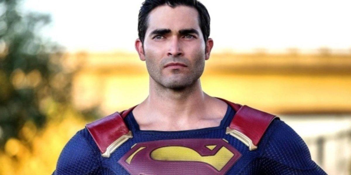 Tyler Hoechlin Plays Superman on Supergirl