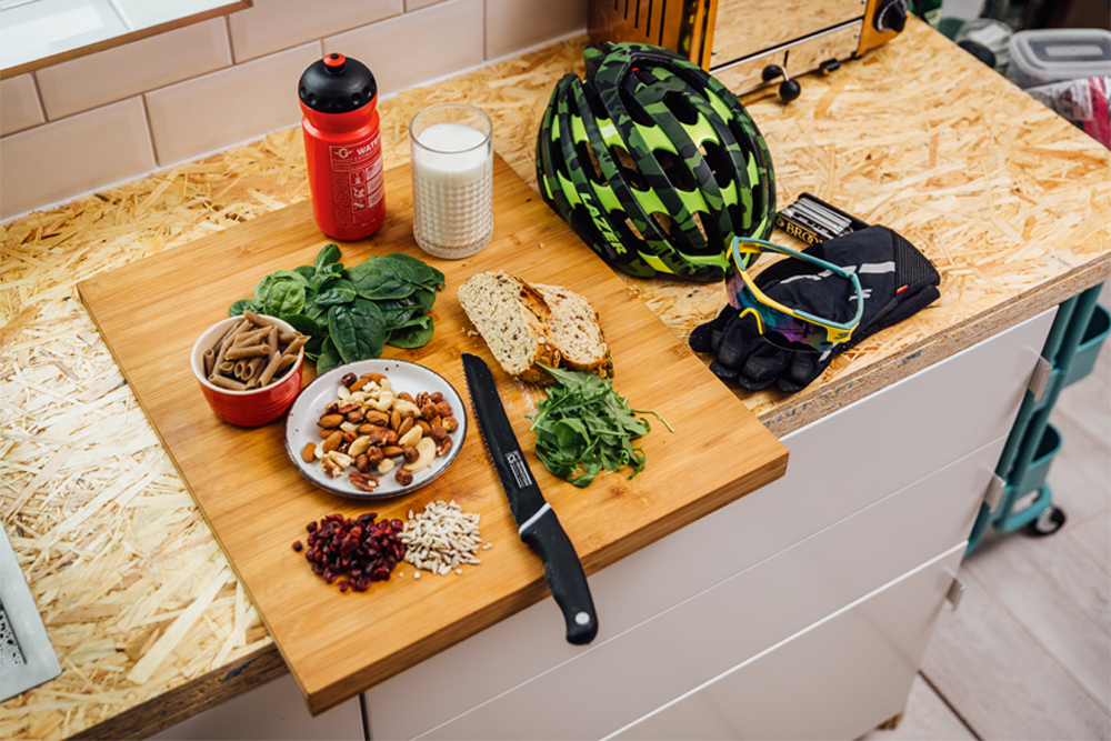 A cyclist's guide to following a vegetarian diet