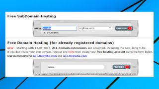 Free Web Hosting Area review