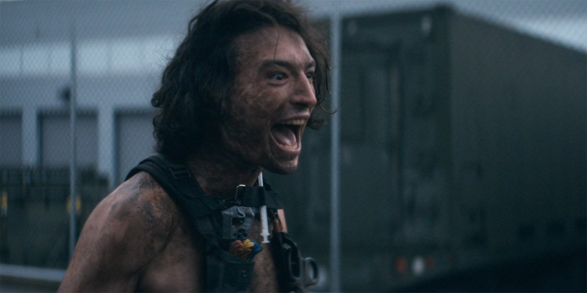 Ezra Miller as Trashcan Man in The Stand