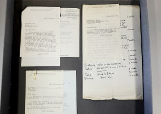 A lost collection of letters written by Alan Turing was discovered in an old filing cabinet in a storeroom at the University of Manchester.