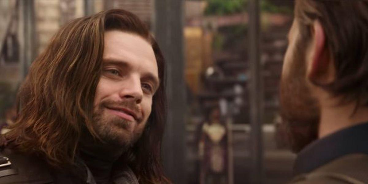 Sebastian Stan as Bucky Barnes in Avengers: Infinity War (2018)
