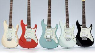 Ibanez AZ Essentials electric guitar lineup
