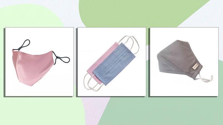The best sustainable face masks ThisIsSilk / Baukjen / Copper Clothing