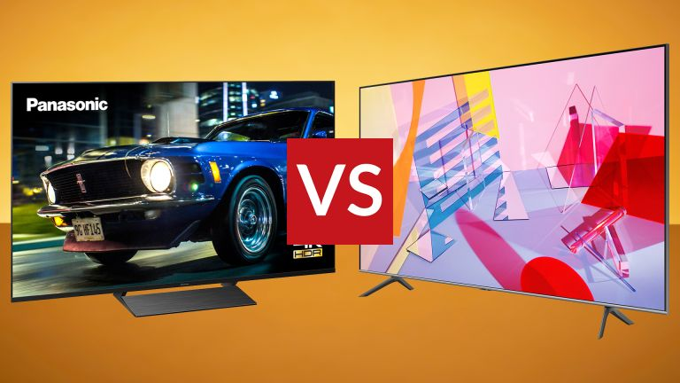 Panasonic HX800 vs Samsung Q60T mid-range QLED LED TV