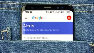 google alerts could be data scams