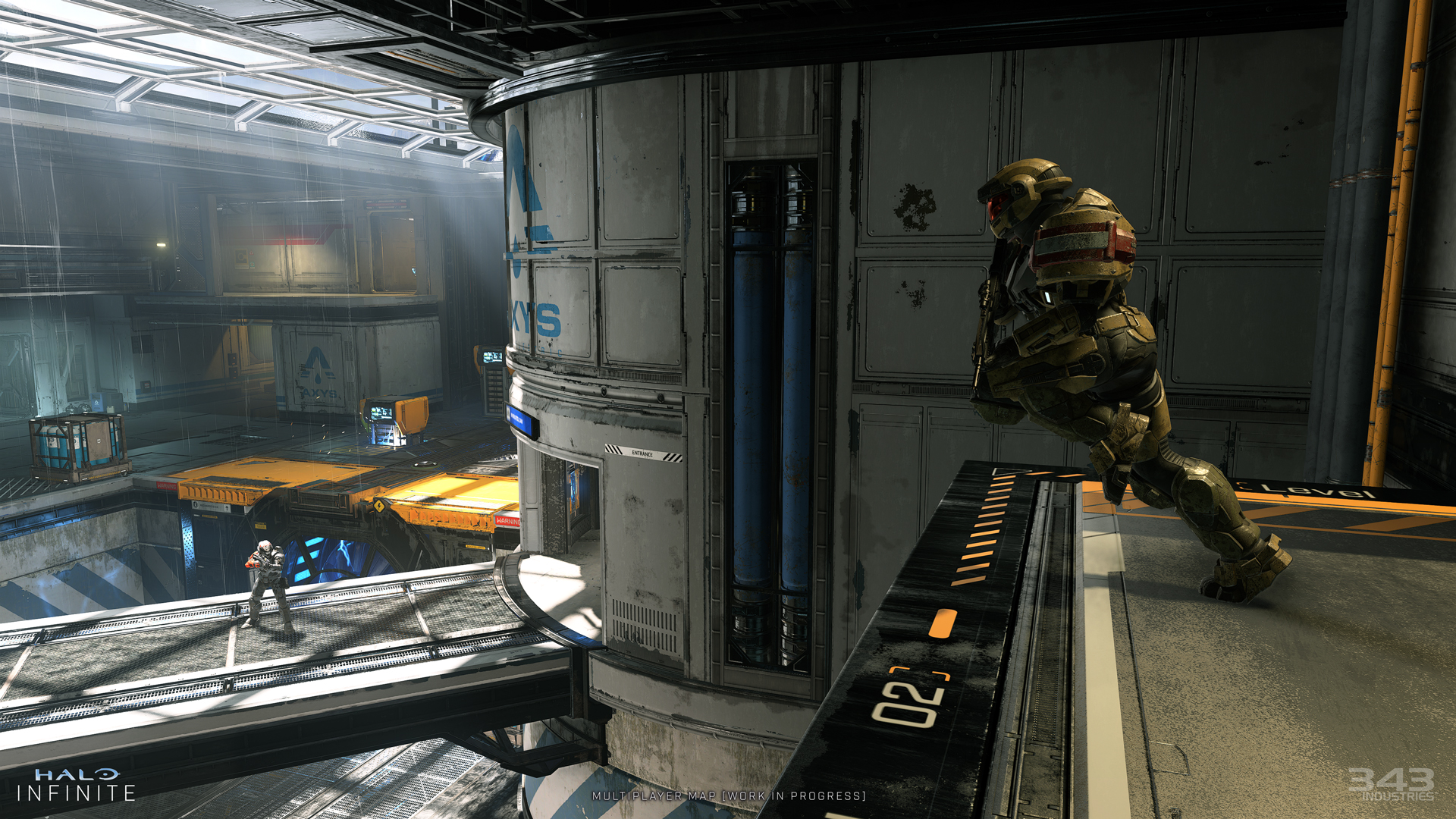 Halo Infinite multiplayer map