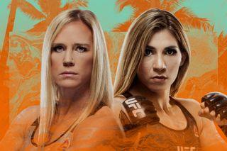 UFC Fight Island 4 Holm vs. Aldana promo splash