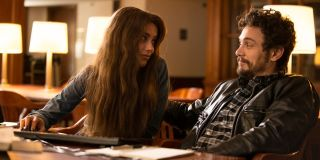 Amber Heard and James Franco in The Adderall Diaries