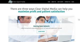 Clear Digital Media Redesigned Website