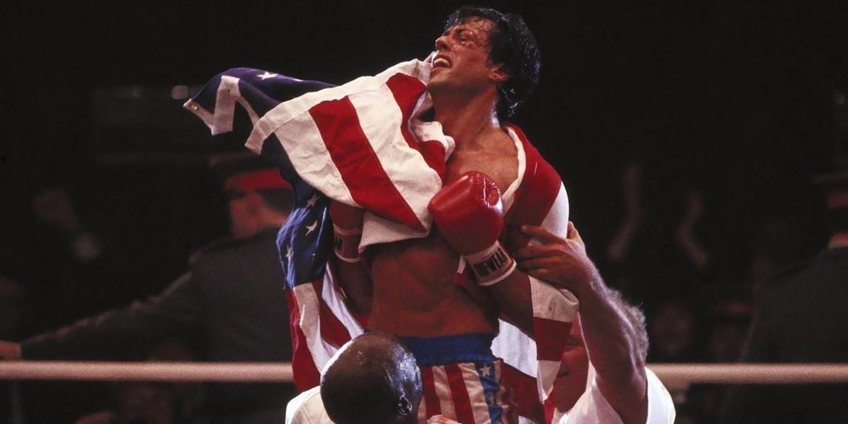 Sylvester Stallone as Rocky Balboa in Rocky IV (1985)