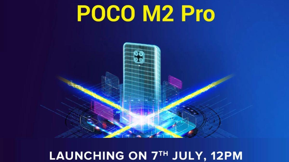 Poco M2 Pro sẽ ra mắt vào ngày 7 tháng 7 tại Ấn Độ