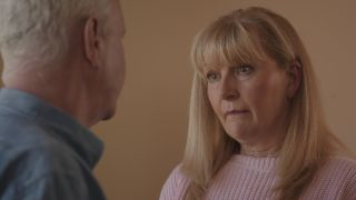 Picture Shows: Charlie Fairhead and wife Duffy looking forlorn
