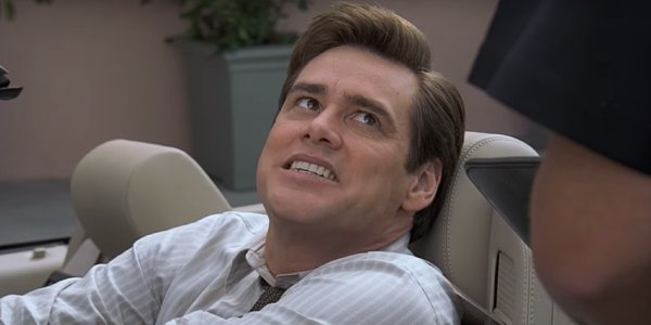 Jim Carrey gets caught in a lie... again