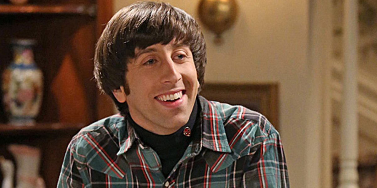 Howard older on The Big Bang Theory