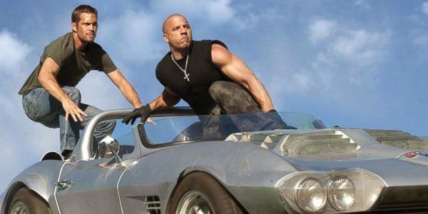 Paul Walker Vin Diesel Fast and Furious