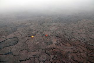 Kilauea red ash