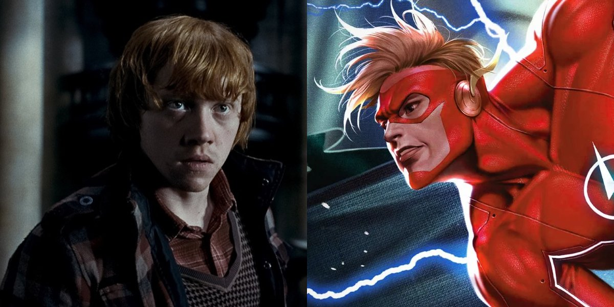 Rupert Grint and Wally West