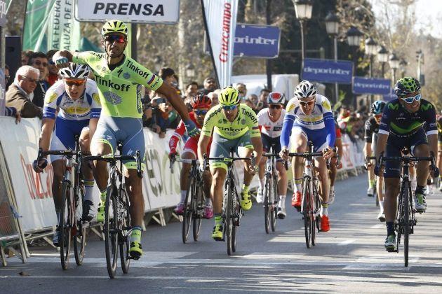 Daniele Bennati wins satge 1 of the 2016 Ruta del Sol