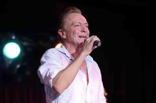 David Cassidy at a concert in 2015.