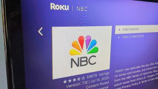 NBC Channel on Roku on TV