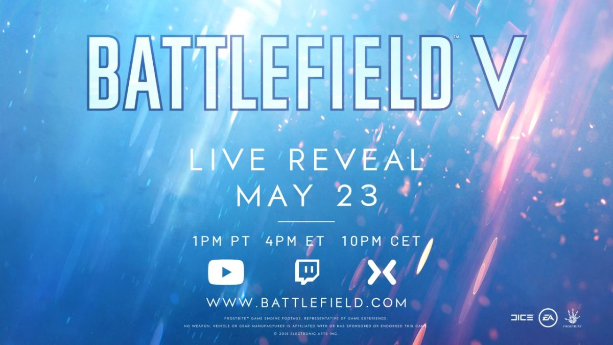 Watch the Battlefield 5 reveal here