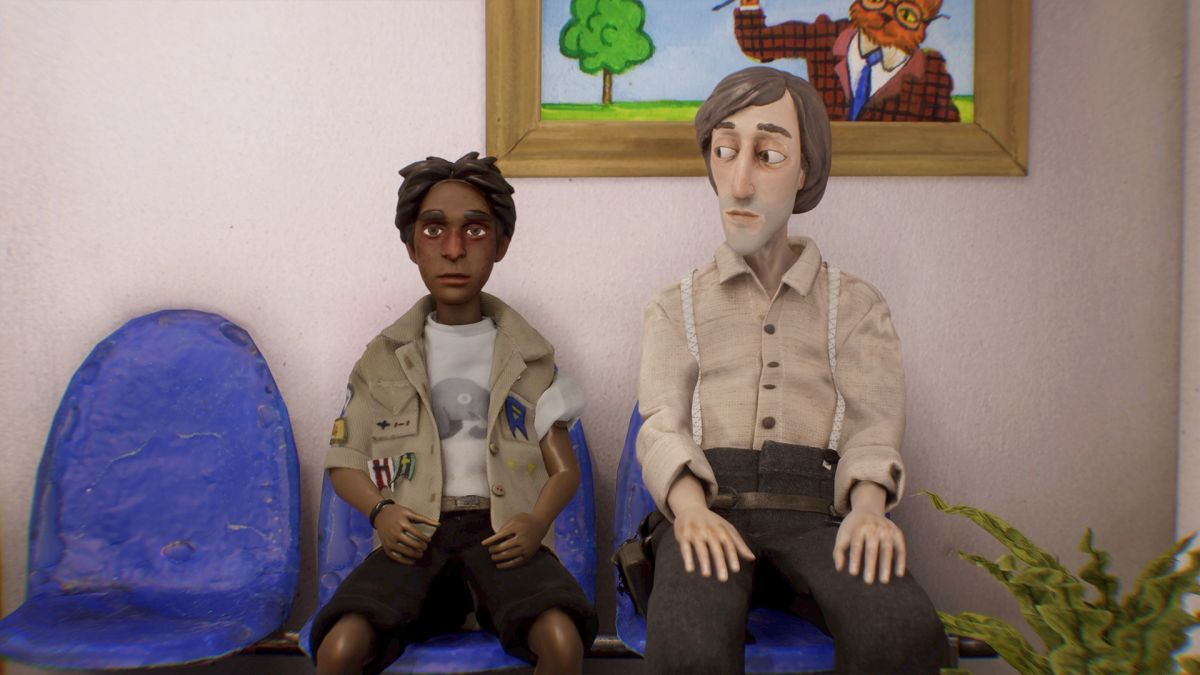 Hot damn, this game looks exactly like a stop motion Wes Anderson movie