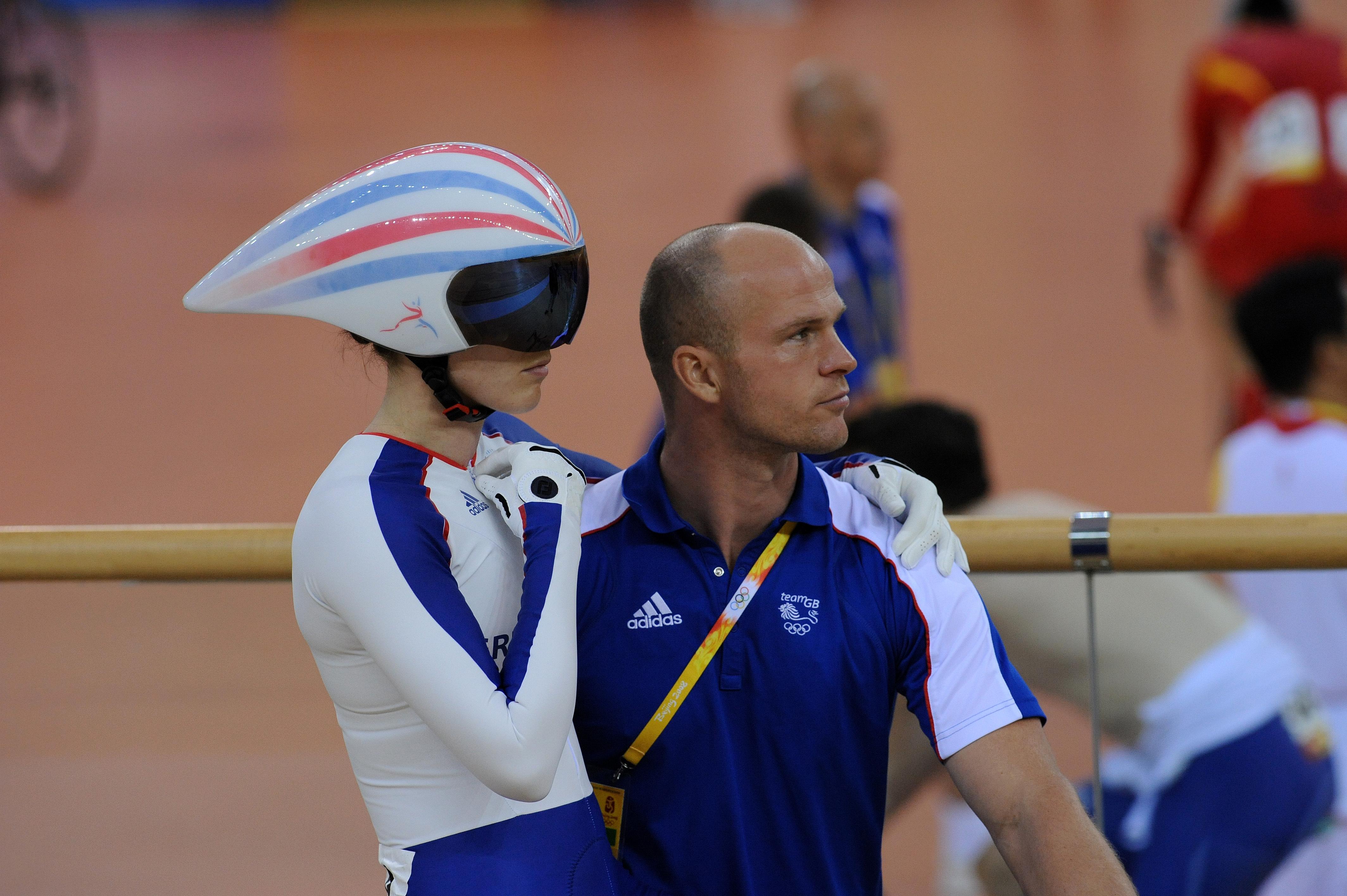 Victoria Pendleton sprint Olympics 2008