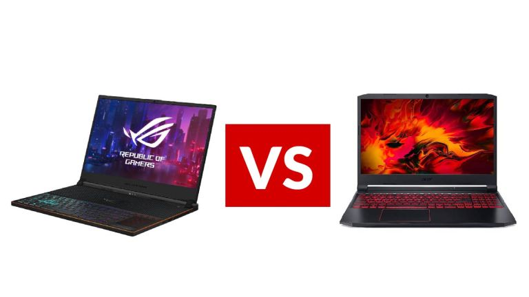 Asus ROG Zephyrus S GX701 vs Acer Nitro 5