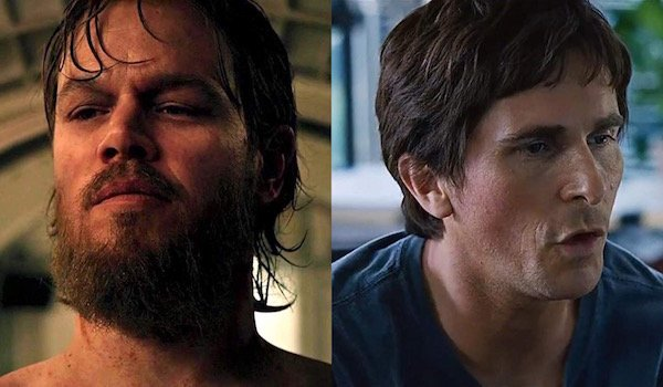 Matt Damon and Christian Bale