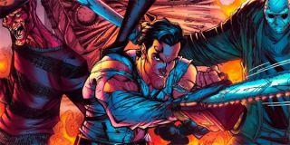 Freddy vs Ash vs Jason comic book cover