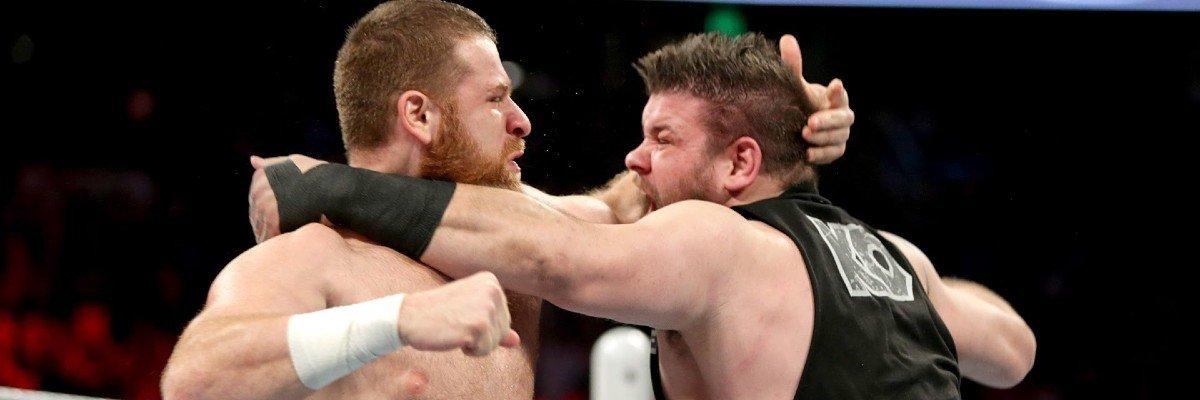 Sami Zayn and Kevin Owens on Raw