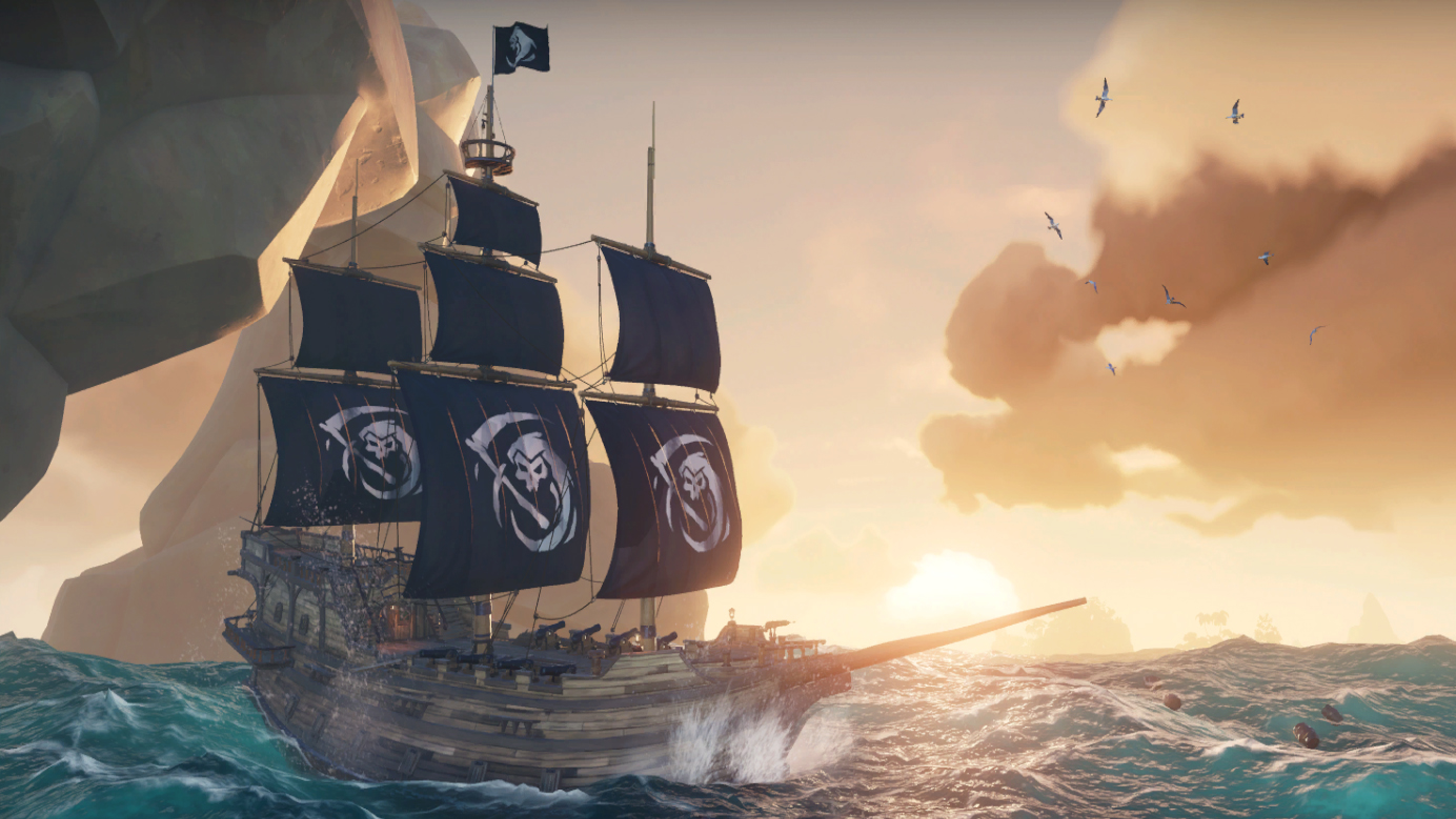 Sea of Thieves' Black Powder Stashes update is live | PC Gamer