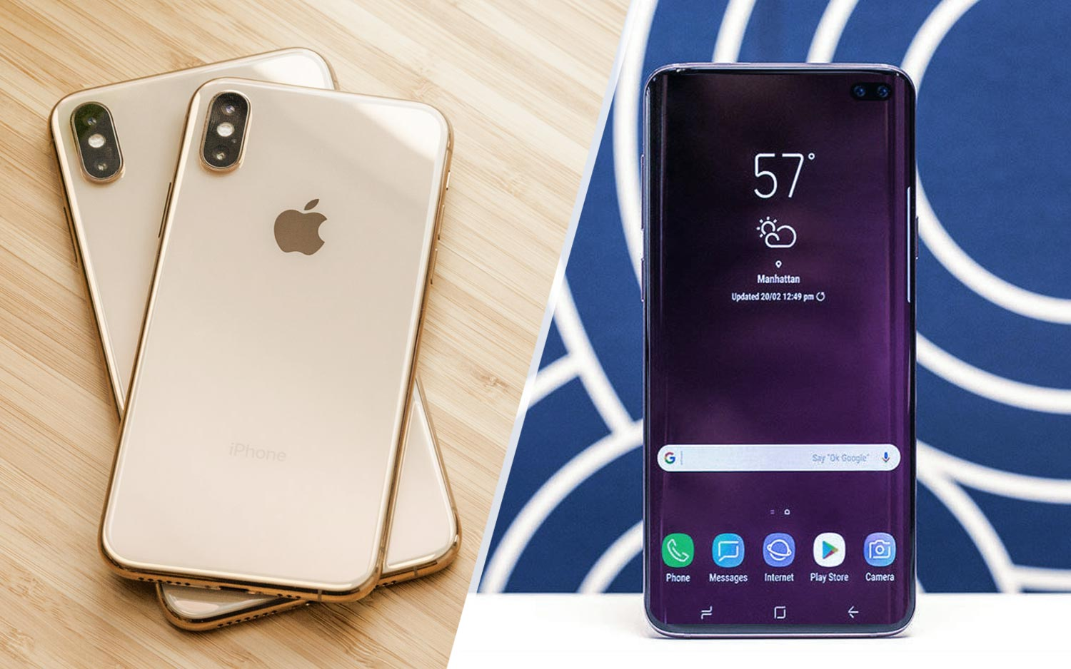 Galaxy S10 vs  iPhone XS Preview: Which Phone Will Win