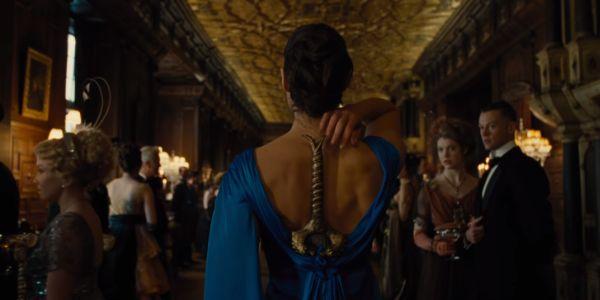 Wonder Woman ballroom