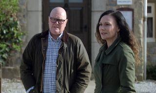 Chas tells Paddy her worries in Emmerdale